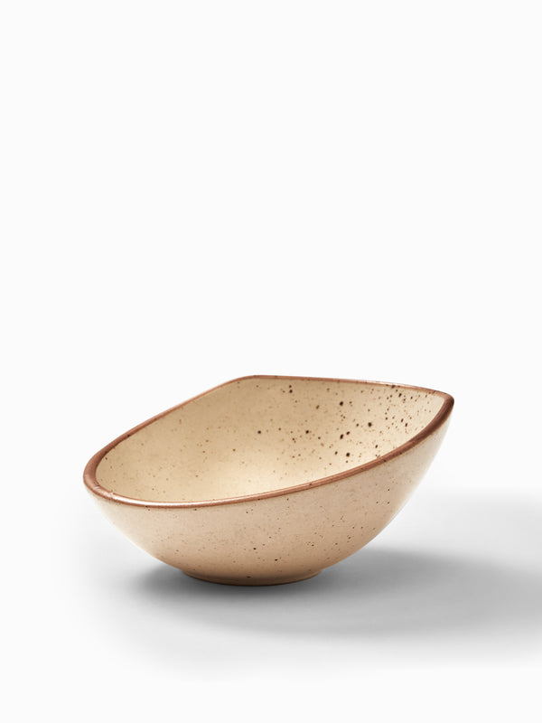 Beige Dotted Bowl