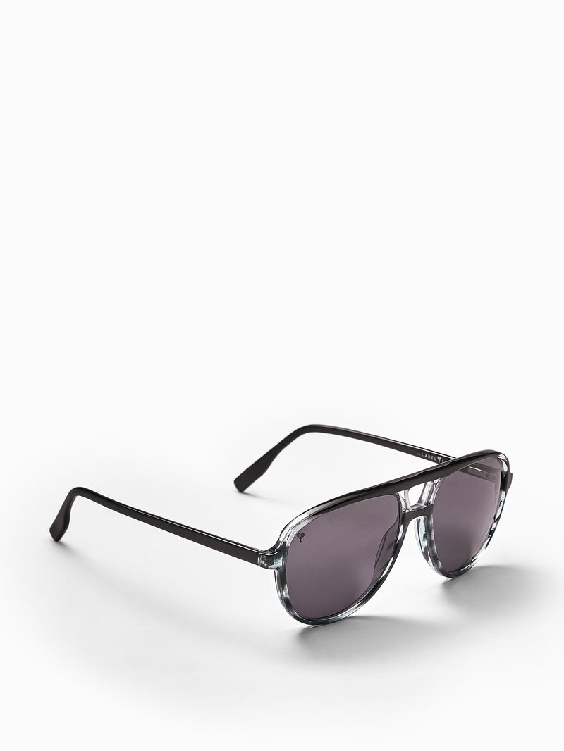 Black Round Bridge Sunglasses