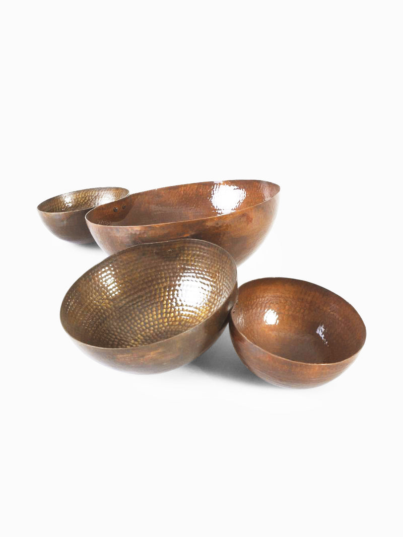 Brass Jointed Bowls by AnanTaya