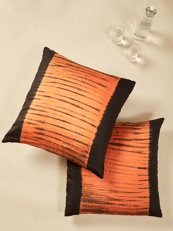 Cocoa Tie & Dye Cushion Cover