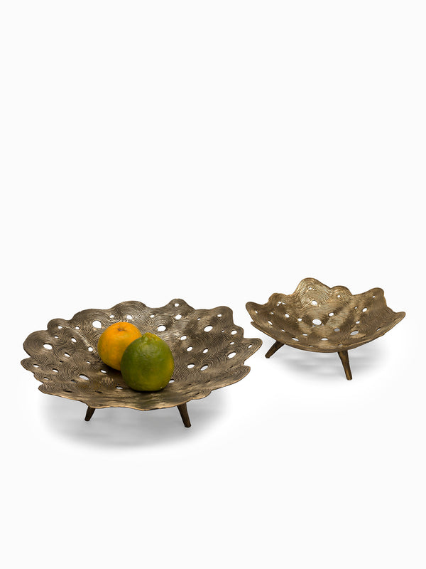 Crater Bowl Dhokra Large