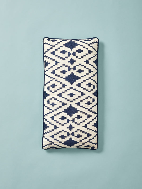 Embroidered Cotton Cushion