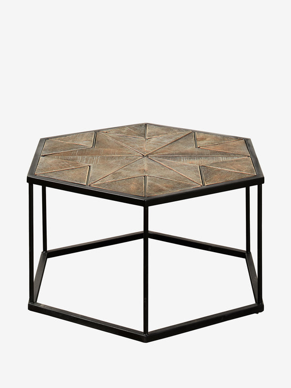 Hexagon Side Table