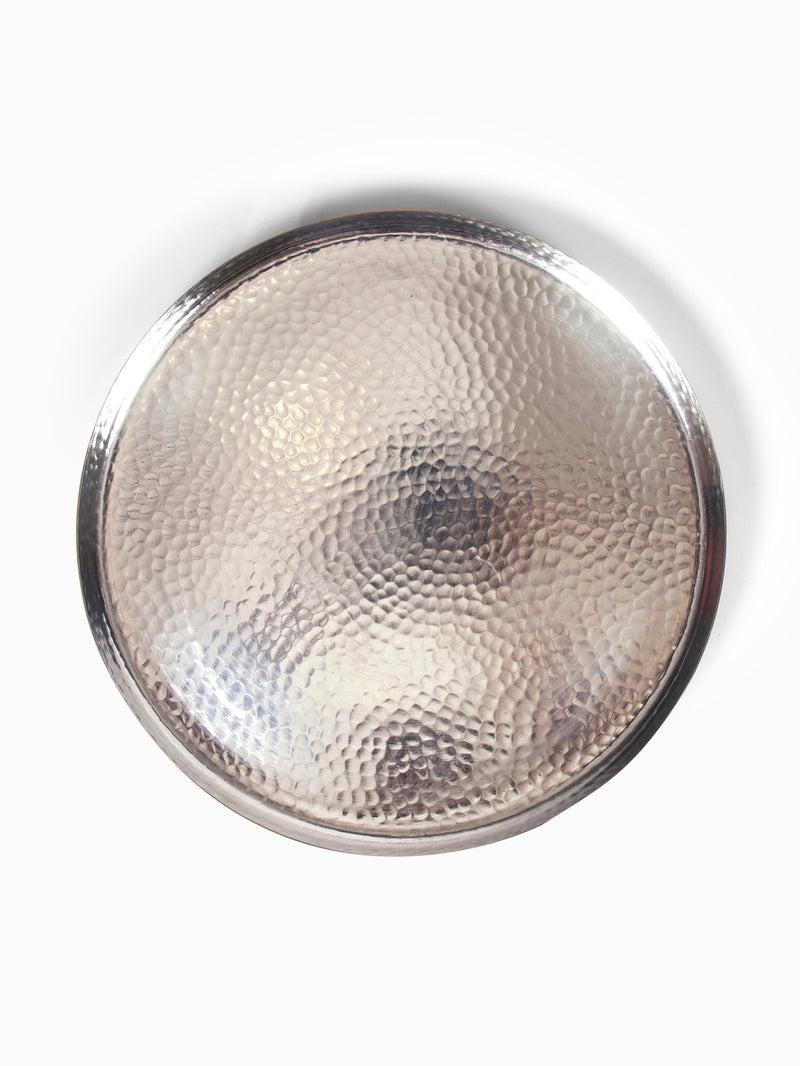 Hookka Brass Kalai Thaali Medium by AnanTaya