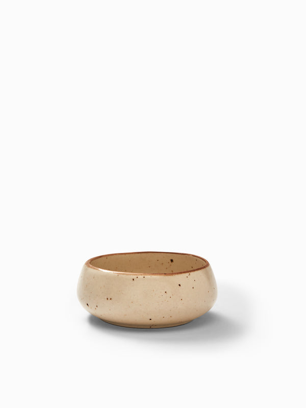 Ivory Dotted Bowl Small