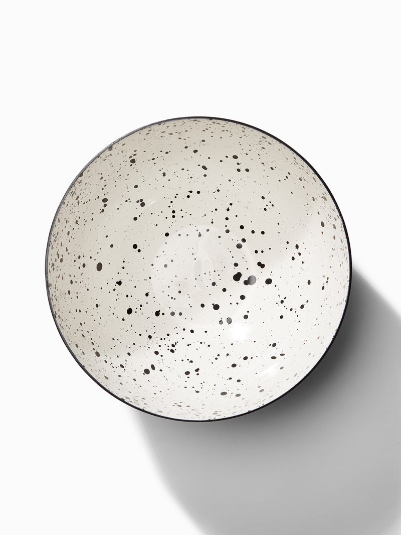 Monochrome Speckled Bowl Small