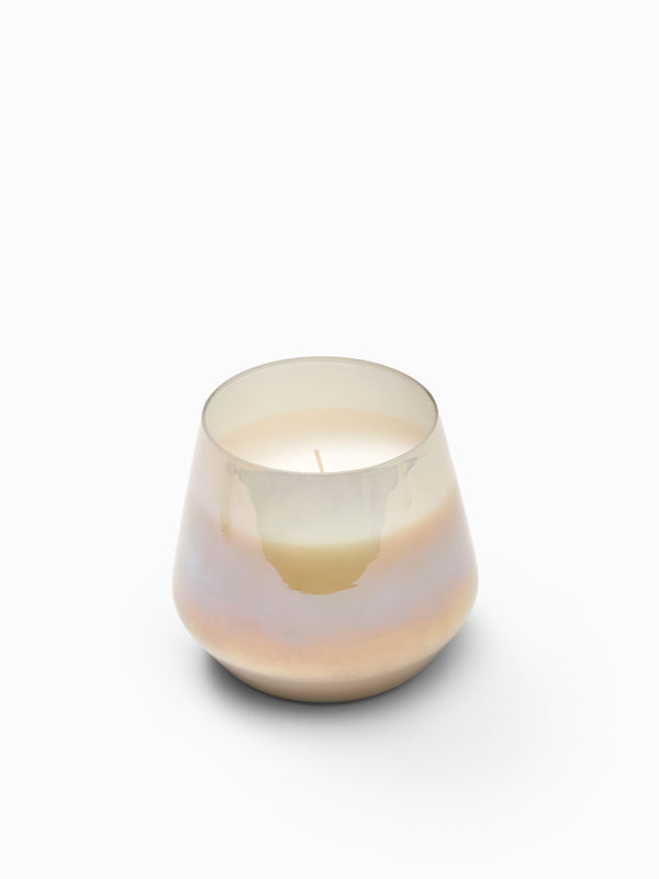 Opal Finish Glass Tuberose Candle