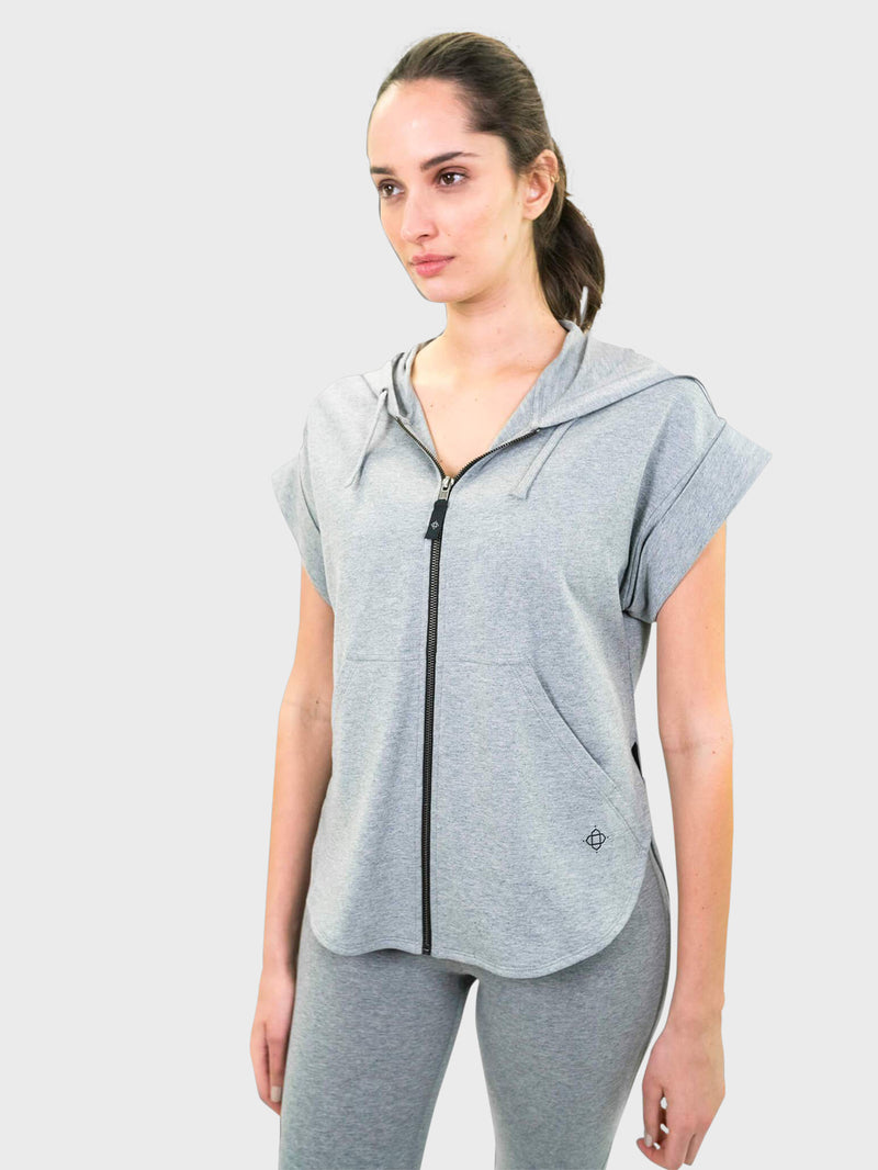 Rye Hoodie in Heather Grey By Satva
