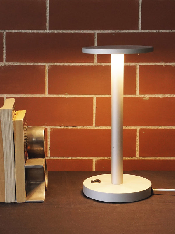 White Halo Table Lamp