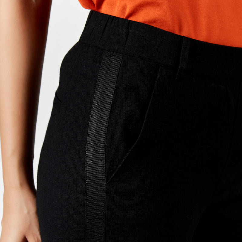 Black Narrow Pants