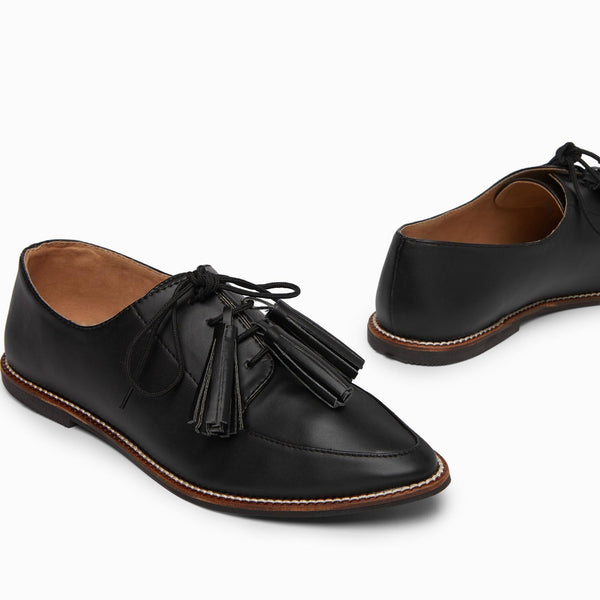 Black Tassel Brogues