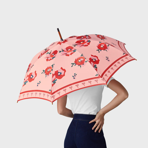 Blush Bloom Umbrella