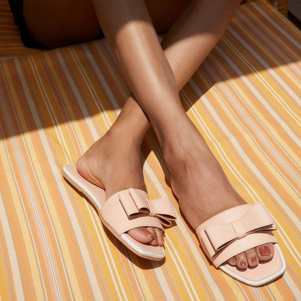 Blush Bow Sliders