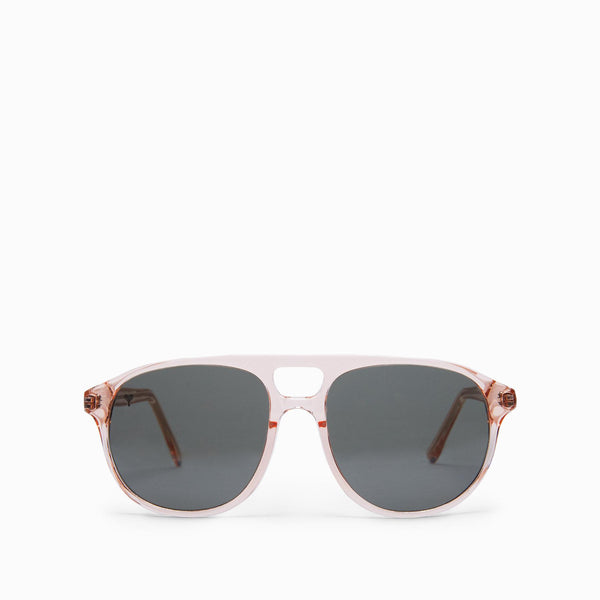 Blush Round Bridge Sunglasses