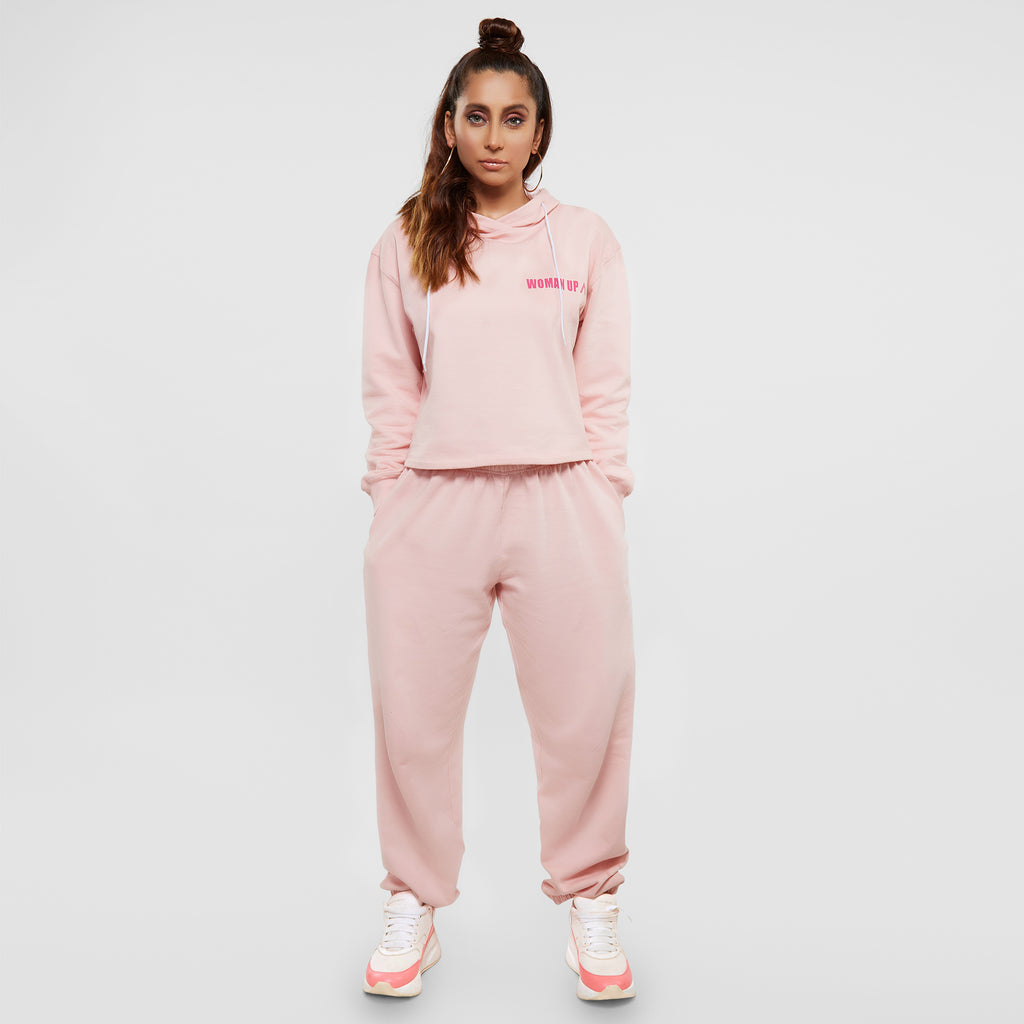 Blush Slogan Tracksuit