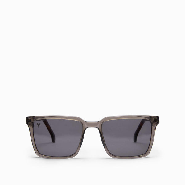Charcoal Square Sunglasses