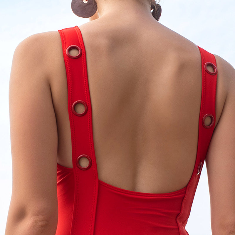 Scarlet Rivet Swimsuit