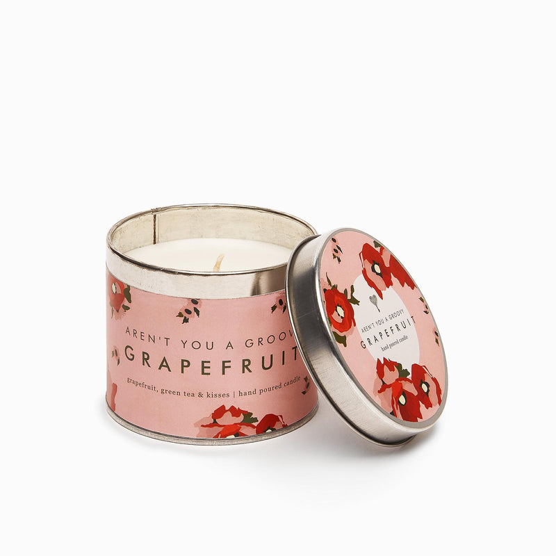 Grapefruit Candle Tin