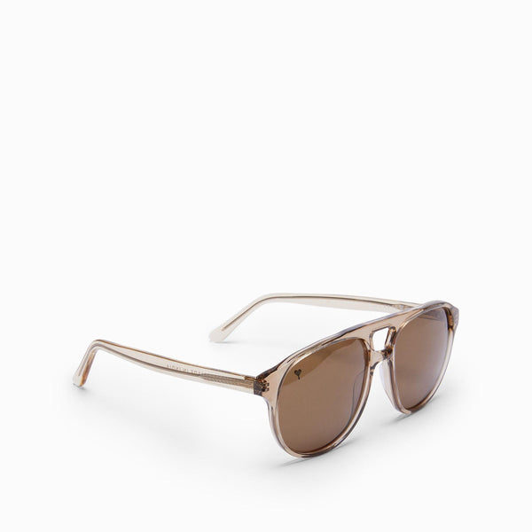 Grey Round Bridge Sunglasses