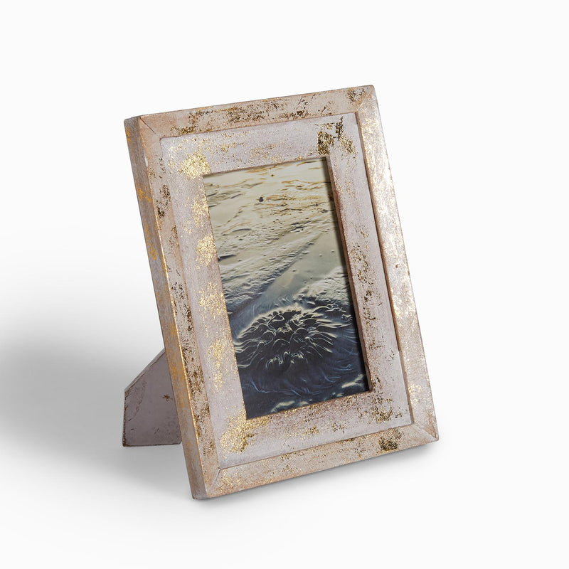 Ivory & Gold Photo Frame