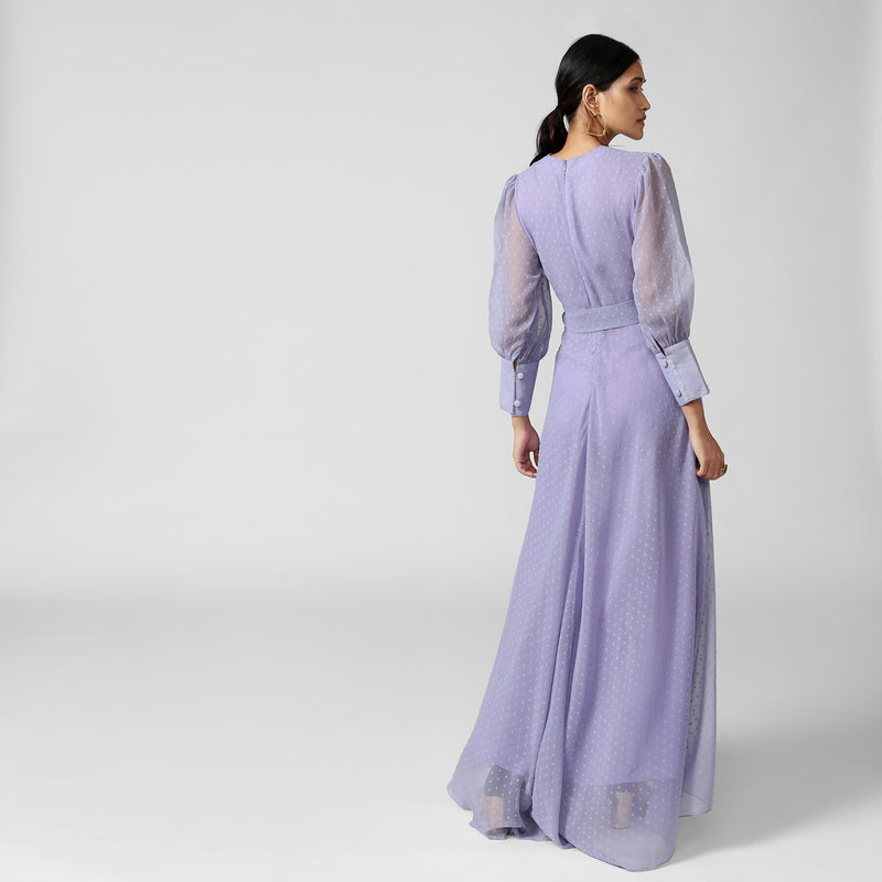 Periwinkle Belted Maxi