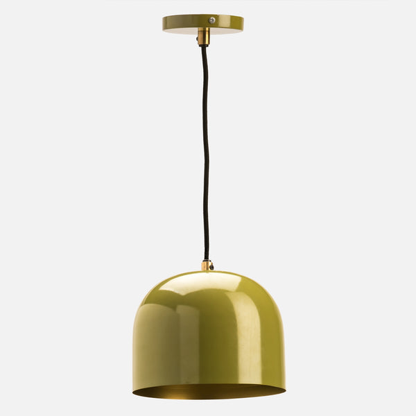Olive Dome Ceiling Light