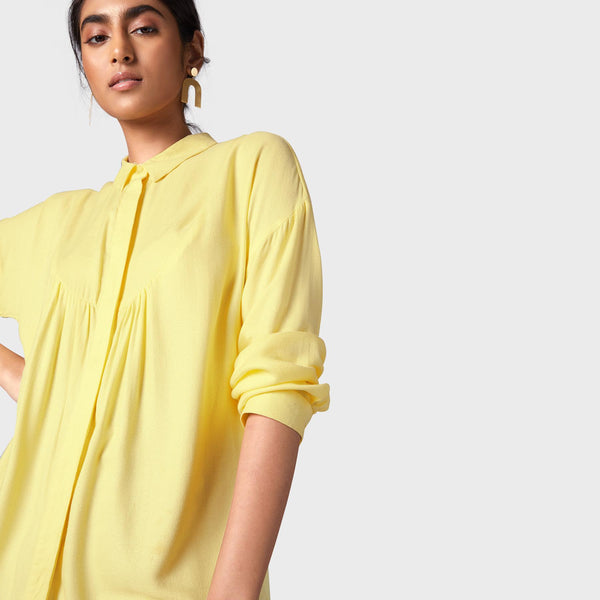 Lemon Yoke Button Down Shirt