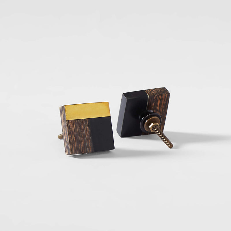 Wooden Square Knobs