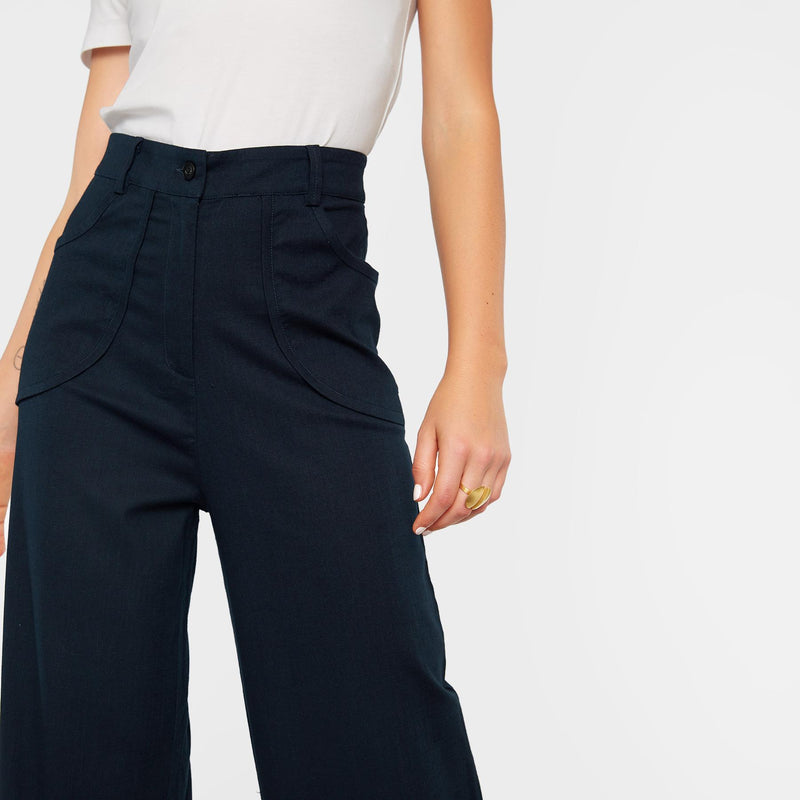 Midnight Relaxed Pants
