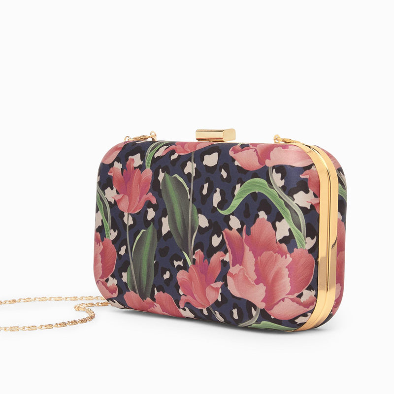 Midnight Spring Clutch