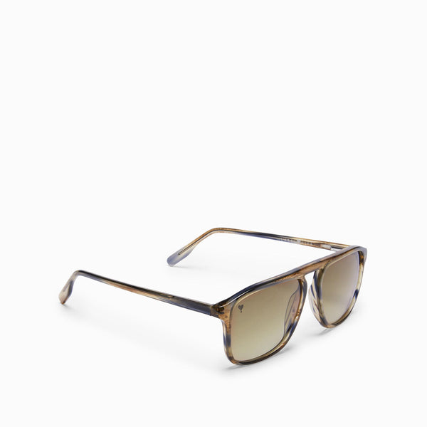 Mocha Square Bridge Sunglasses