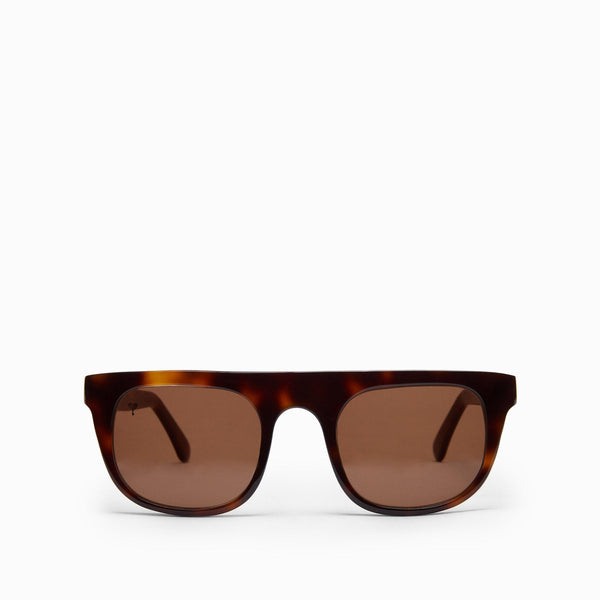 Mocha Tortoise Shell Bridge Sunglasses