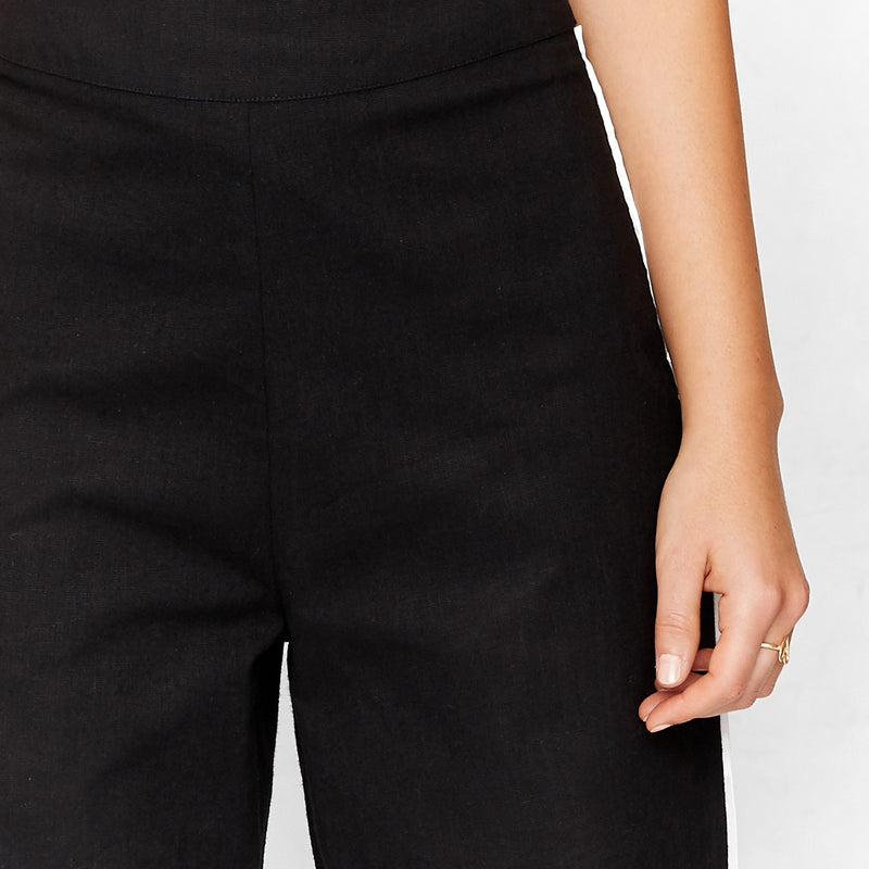 Monochrome High Waist Pants