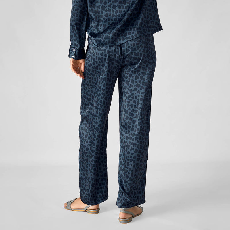 Navy Leopard Sleep Pyjamas