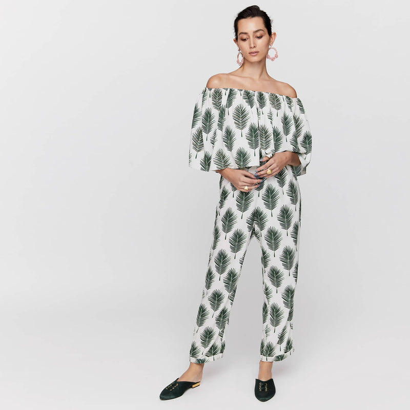 Forest Overlay Jumpsuit by Payal Singhal