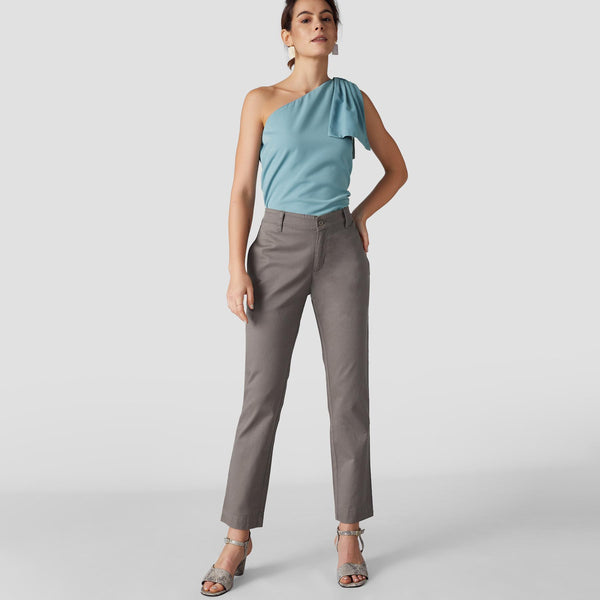 Taupe Relaxed Pants