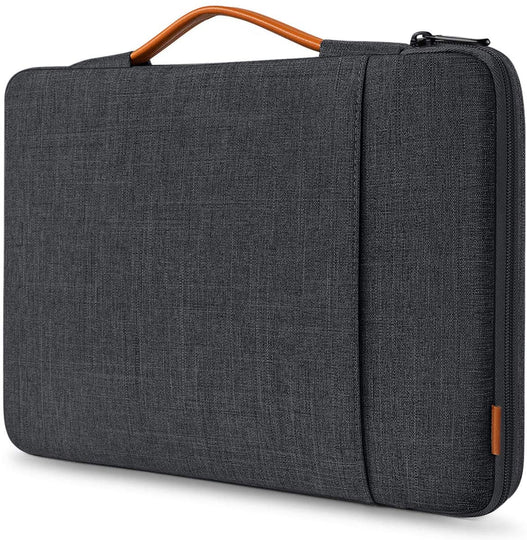 Inateck 13 Zoll Laptoptasche Hülle Kompatibel MacBook Air/Pro, Surface Pro LB02006, schwarzgrau