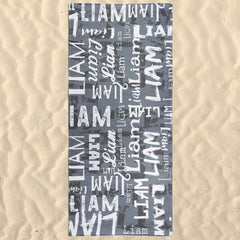 Personalized Name Beach Towel