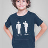 Image of Military Army Son Daughter Shirt - Your Dad My Dad