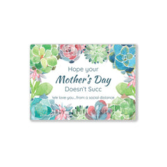 Mother's Day Quarantine Personalized Custom Greeting Card