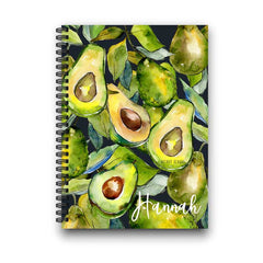 Avocados Personalized Notebook