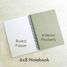 Load image into Gallery viewer, Colored Pencils Personalized Notebook