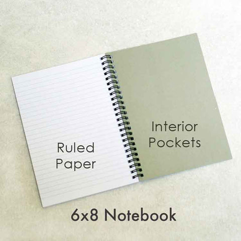 Colored Pencils Personalized Notebook