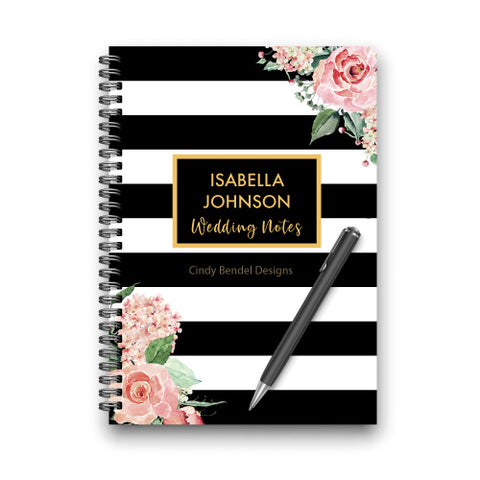 wedding notebook engagement gift planner