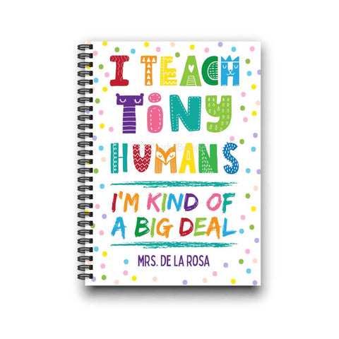 Preschool Daycare Toddler Kindergarten Teacher Practical Gift Notebook