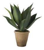 Faux Potted Aloe Plant