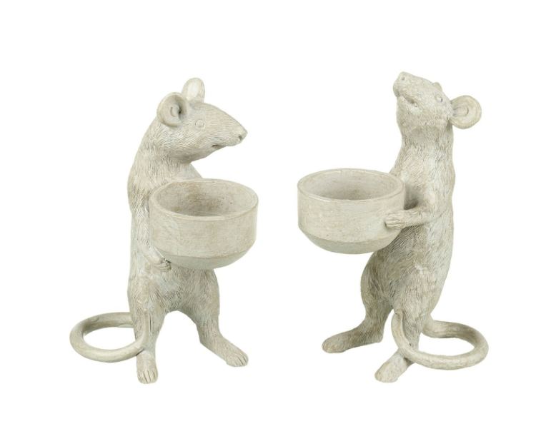 Mice Tea Light Holders