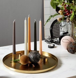 Tall Dinner Candles