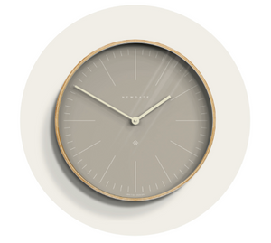 Grey Mr Clarke Clock