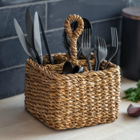 Seagrass Cutlery Holder